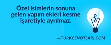 Türkçe Notları